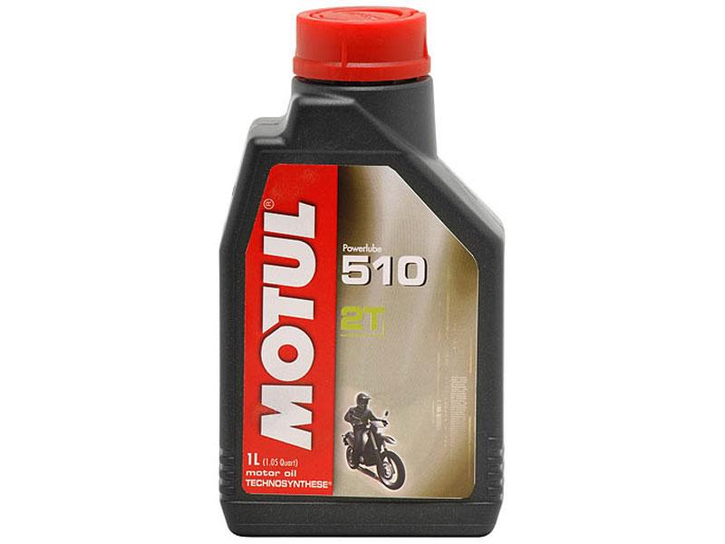 Масло Motul 2T 510 AS  (полусинтетика) 1л.