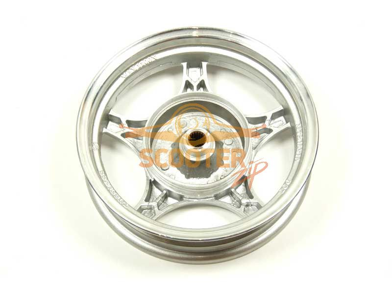 Диск колеса 10 x 2.15 задний барабанный тормоз (19 шлицов колодки d-110мм)