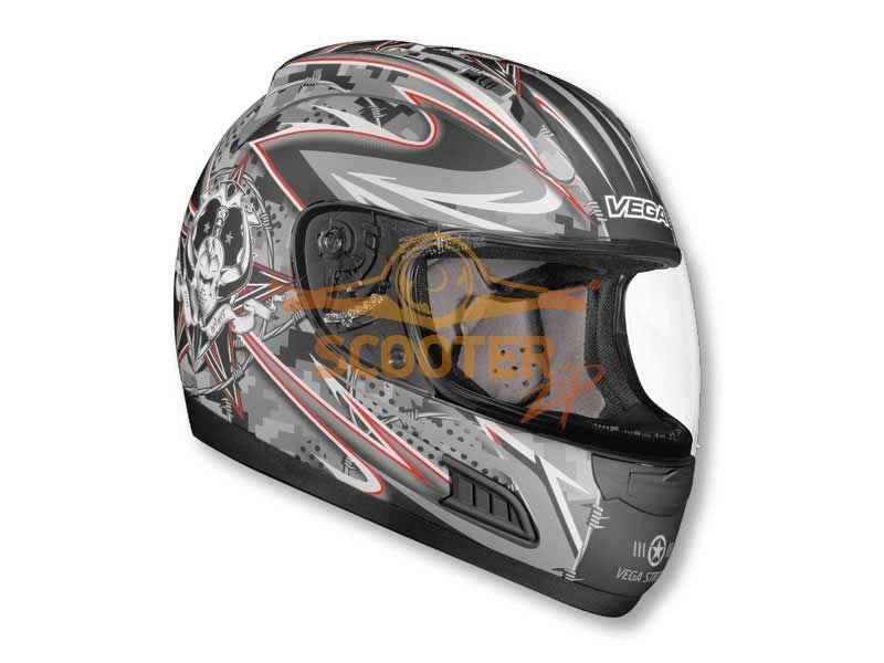 Шлем (интеграл)  ALTURA  Lock and Load  черный матовый