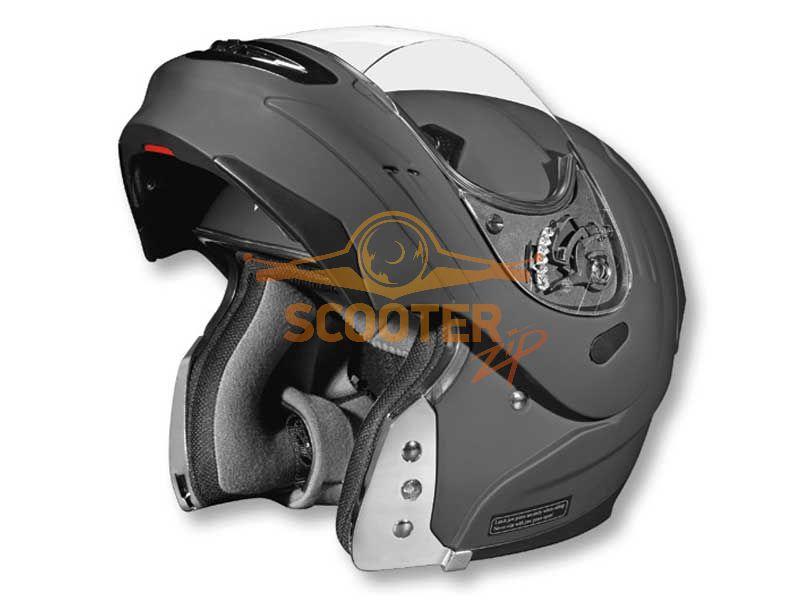 Шлем (модуляр)  SUMMIT II   Solid  черный матовый