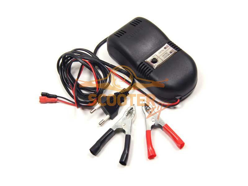 .Зарядное устройство для аккумулятора скутера и мото.
