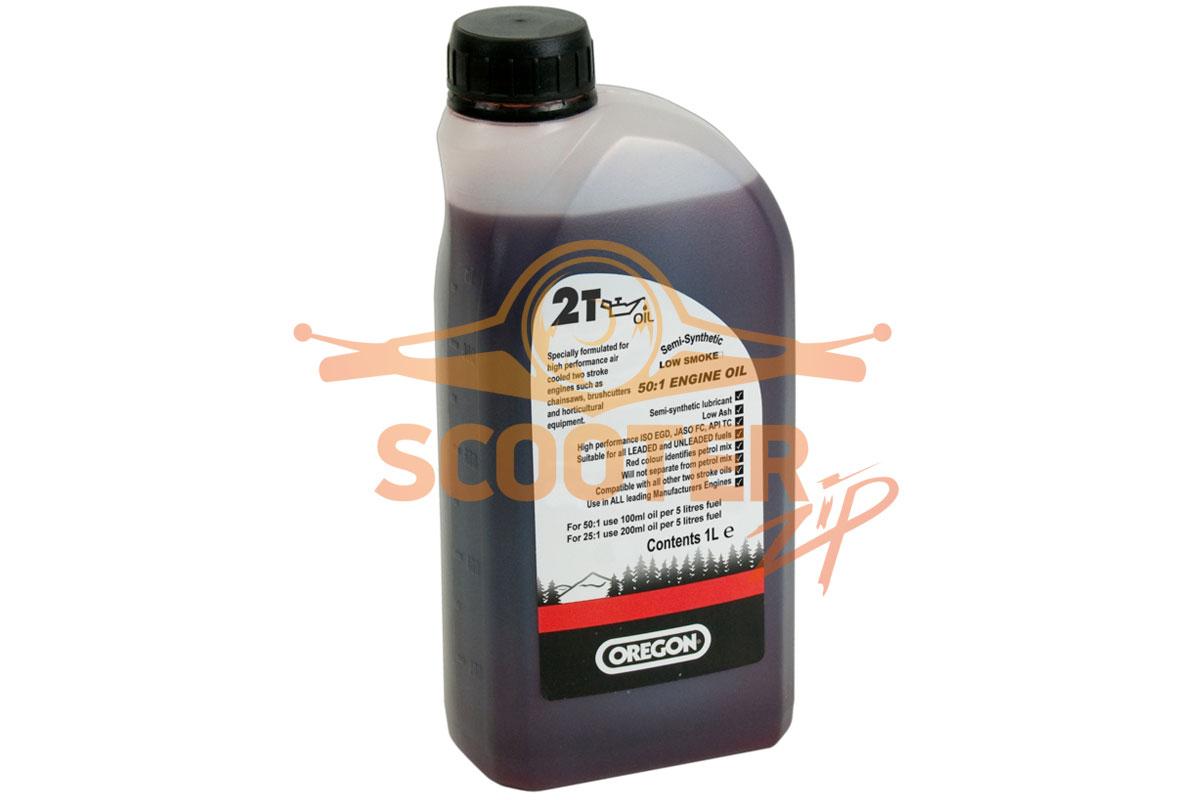 Масло для двухтактного двигателя (минеральное) OREGON ( 1литр)
