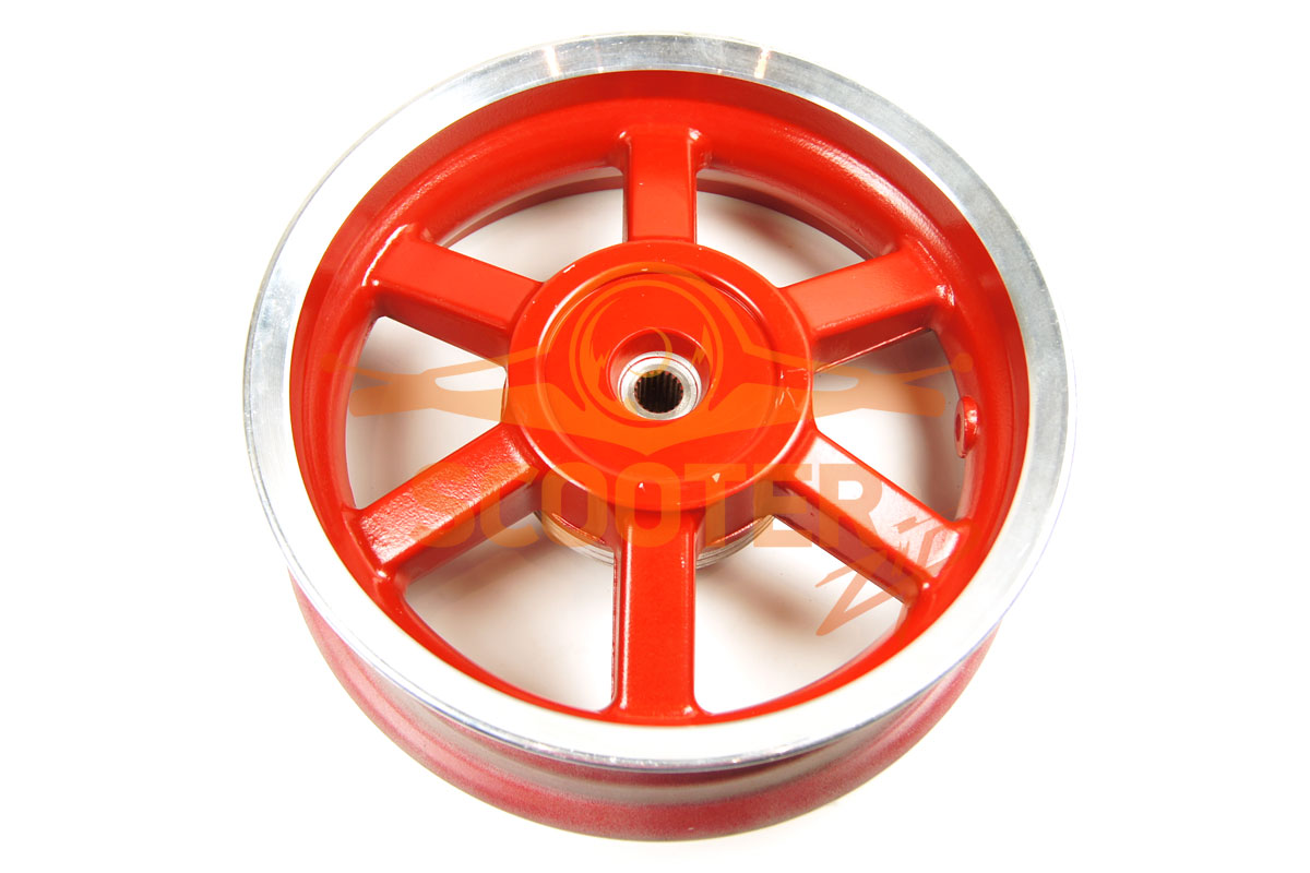 Диск колеса 12 x 3.50 задний барабанный тормоз (19T) колодки d-110мм