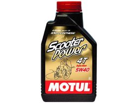 Масло Motul 4T Scooter Power 5W40 100% Synt. 1л (синтетика)