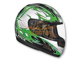 Шлем (интеграл)  ALTURA  Stryker  зеленый/черн. глянцевый
