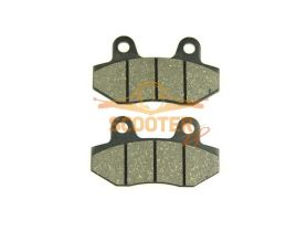 Колодки дискового тормоза Honling QT6 (без ушка), IRBIS TTR250 задние