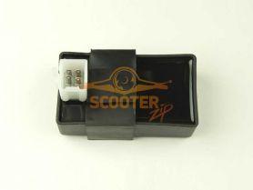 CDI 4T 50cc Baotian (1 фишка, 6 контакта)