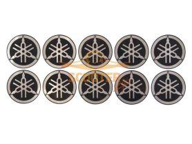 Наклейки набор (12х29) эмблемы Yamaha
