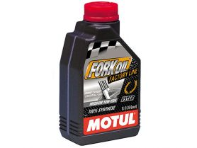 Масло для вилок Motul Fork Oil Factory Line Medium 10W 100% Ester 1л (синтетика)