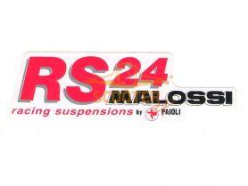 Наклейка RS 14см. MALOSSI (Италия)