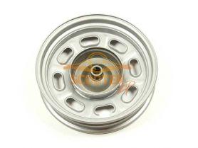 Диск колеса 10 x 2.15 задний барабанный тормоз штампованный (19 шлицов колодки d-110мм)
