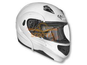 Шлем (модуляр)  SUMMIT II   Solid  белый глянцевый