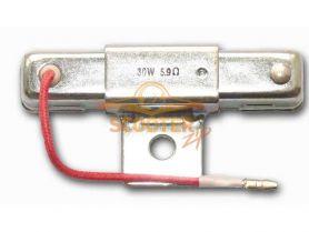 Резистор R-4 30w 5.9om (большой) (Тайвань)