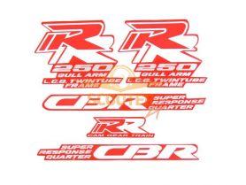 Наклейки набор (15х27) CBR250RR