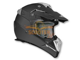 Шлем (кроссовый)  HD210  Solid черный матовый