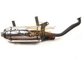 Глушитель 4T 152QMI, 157QMJ 125/150сс черный