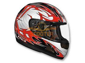 Шлем (интеграл)  ALTURA  Stryker  красный/черн. глянцевый