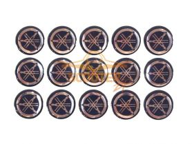 Наклейки набор (11х18) эмблемы Yamaha