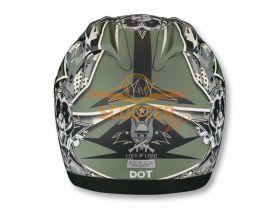 Шлем (интеграл)  ALTURA  Lock and Load  зеленый (хаки) матовый