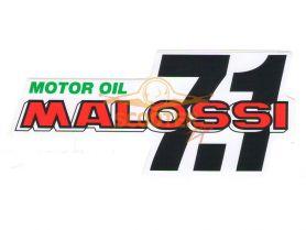 Наклейка MOTOR OIL 15см. MALOSSI (Италия)