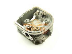 Головка цилиндра 4T 158QMJ Stels/Keeway 150cc d-57, 4 (подш. d-33mm) в сборе с клапанами