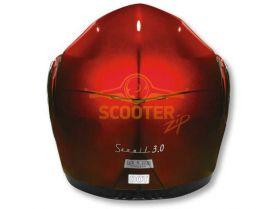 Шлем (модуляр) HD185 Solid красный глянцевый