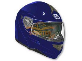Шлем (модуляр) HD185 Solid синий глянцевый