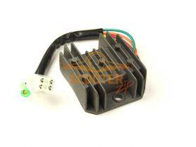 Регулятор напряжения 4T 125-150сс 1 фишка 4+1 контакт
