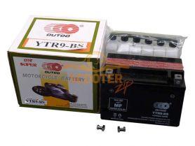 АКБ  YTX 9-BS 12V 9Ah (152 x 88 x 107) /+ -/   OUTDO