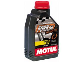 Масло для вилок Motul Fork Oil Factory Line Light 5W 100% Ester 1л  (синтетика)