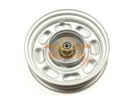 Диск колеса 10 x 2.15 передний барабанный тормоз штампованный (колодки d-110мм)