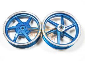 Диски литые Honda Dio 10' КОМПЛЕКТ (передний дисковый тормоз)