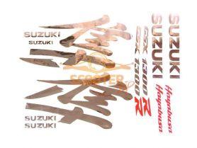 Наклейки, набор (20х40) Suzuki Hayabusa