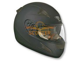 Шлем (интеграл)  HD188  Solid  черный матовый