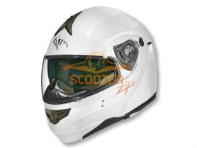 Шлем (модуляр) HD185 Solid белый глянцевый