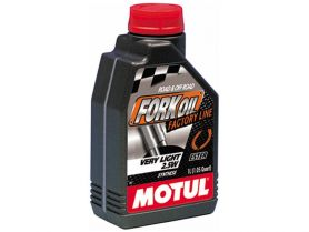 Масло для вилок Motul Fork Oil Factory Line Very Light 2, 5W 100% Ester 1л (синтетика)