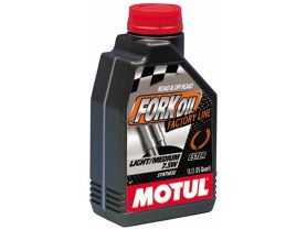 Масло для вилок Motul Fork Oil Factory Line Light/Med 7, 5W 100% Ester 1л (синтетика)