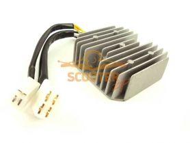 Регулятор напряжения 4T 125-150сс 2 фишки 7 контактов