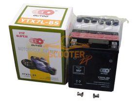 АКБ  YTX 7L-BS 12V 7Ah  (114 х 71 х 131) /- +/  OUTDO