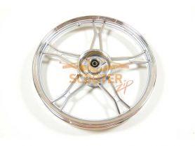 Диск колеса 17 x 1.40 задний барабанный тормоз (колодки d-110мм) мопед