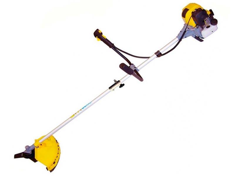 Мотокоса (триммер) CHAMPION Т334FS (0, 75кВт 33, 5см3 тримм. головка 3-х лоп. нож ручка руль 5, 8кг)