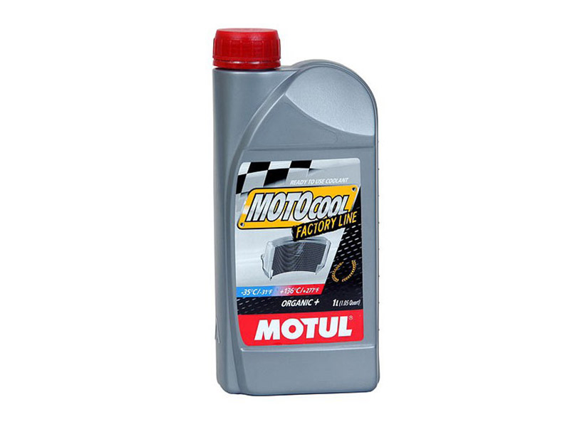 Охлаждающая жидкость MOTUL Motocool FL-35  (красн) 1л