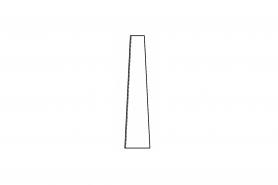 ℗ Уплотняющая пластина заглушка цил/глуш. (вх. в 00008901701)
