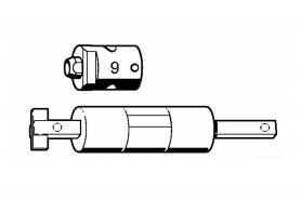 ℗ Монтажный инстр. c/колец 9мм ms-200, FS-130, 310