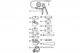 ℗ Набор STIHL испытательных инструментов с насосом new