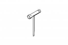 ℗ Ключ комбинированный двухсторонний MS-170, 241