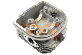 Головка цилиндра для скутера с двигателем 4T 158QMJ Stels/Keeway 170cc d-61 в сборе с клапанами