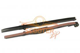 Башмак натяжителя + успокоитель цепи ГРМ (комплект) для скутера с двигателем 4T 152QMI, 157QMJ 125-150cс