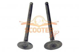 Клапаны (компл. 2шт) для мопеда с двигателем 4T 147FMH, 152FMI d=20/23; DELTA, ALPHA, ATV 70-125