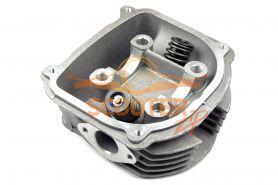 Головка цилиндра для скутера с двигателем 4T 152QMI, 157QMJ 170сс d-61 в сборе с клапанами